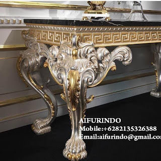 Indonesia Furniture Store,Interior classic console table Furniture,italian Classic french console table furniture,classic console table furniture console Jepara,Indonesia Furniture Factory console with  glass
