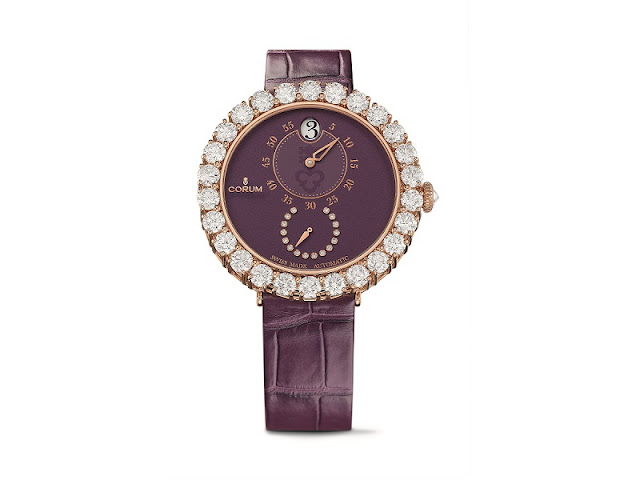 Corum Heritage Eleganza- designed for the stylish woman this festive season