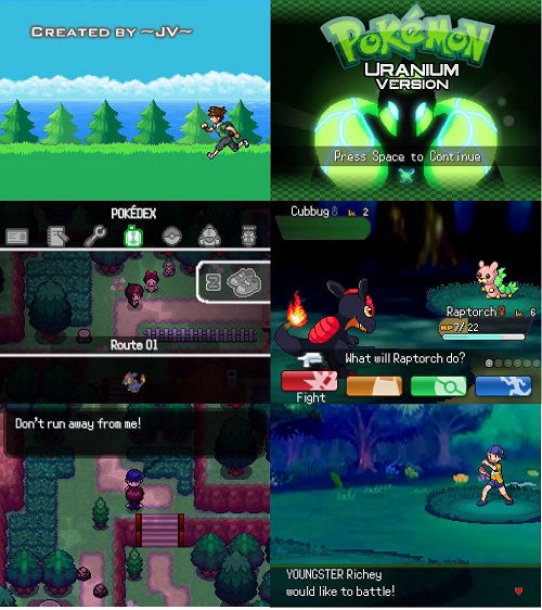 pokemon uranium gba rom download for android