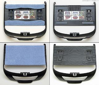 LG Hom-Bot Square VR64703LVM, panno e supporto