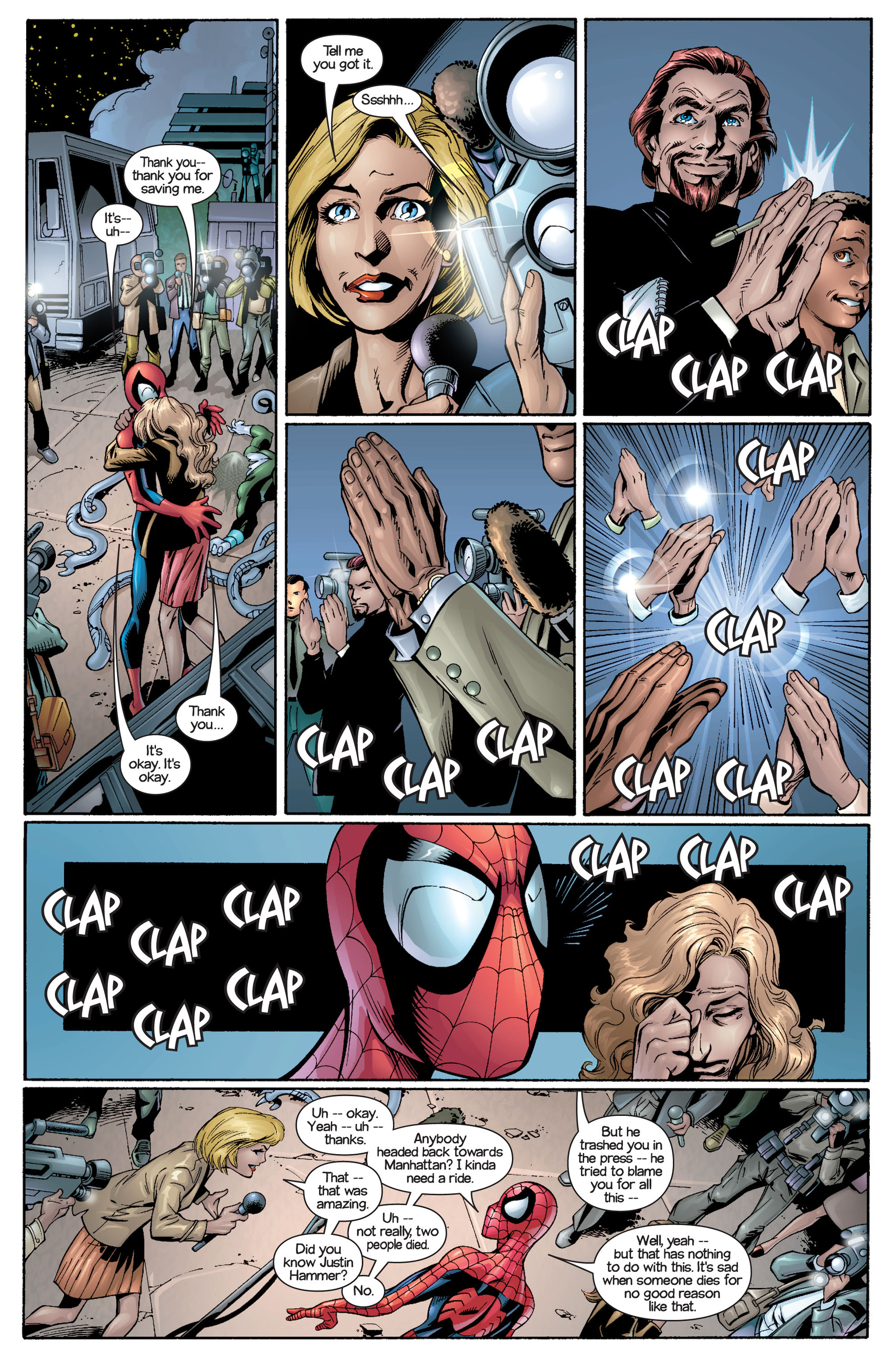 Read online Ultimate Spider-Man (2000) comic -  Issue #21 - 7