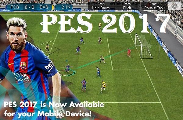 Download PES 2017 – Pro Evolution Soccer Unreleased APK Data