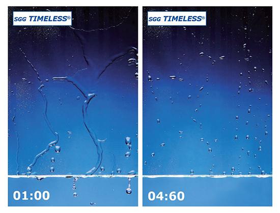 Γρήγορη ροή νερού σε κρύσταλλο timeless