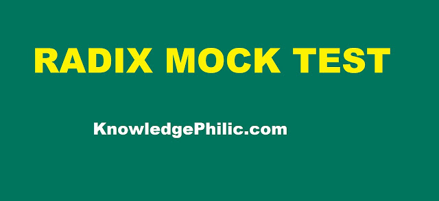 download RADIX MOCK TEST free