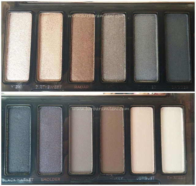 Naked Smoky - Swatch 1