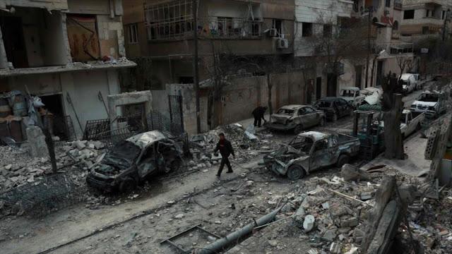 Terroristas impiden evacuación de civiles de la ciudad siria de Guta