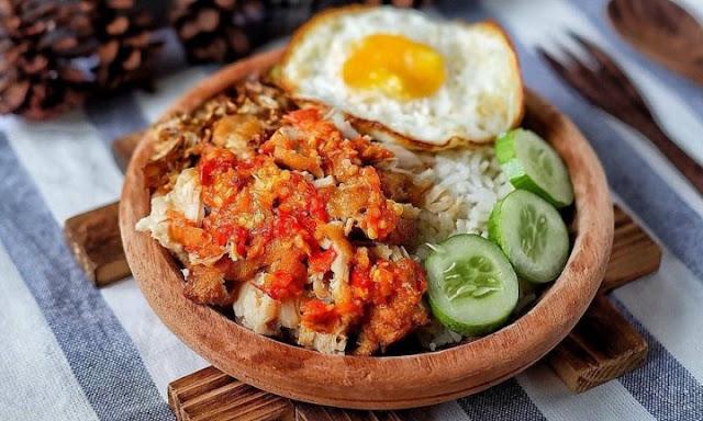 Resep dan Cara Membuat Ayam Gepuk Sambal Bawang yang Enak