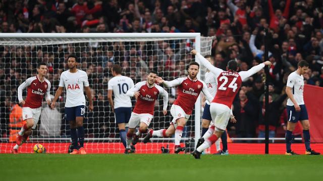 Bantai Tottenham Hotspur, Arsenal Tembus Empat Besar