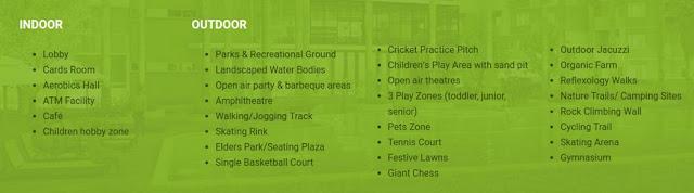 Salarpuria Sattva Park Cubix amenities