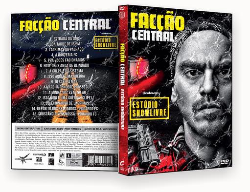 DVD – FACCAO CENTRAL STUDIO SHOW LIVRE 2018 – ISO