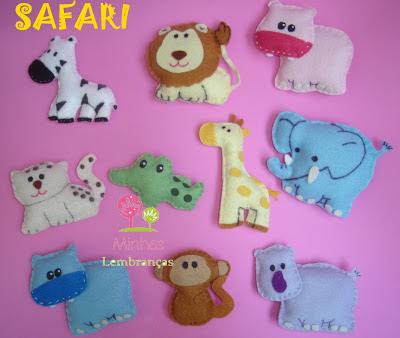 safari-feltro-lembrancinha-brinde-festa-infantil-aniversário-safári