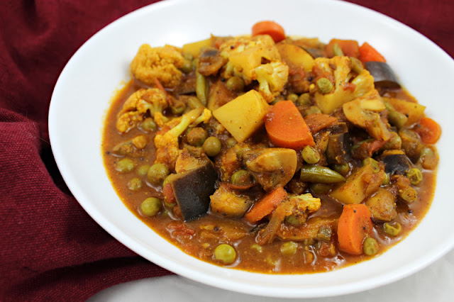 Mixed Vegetable Vindaloo