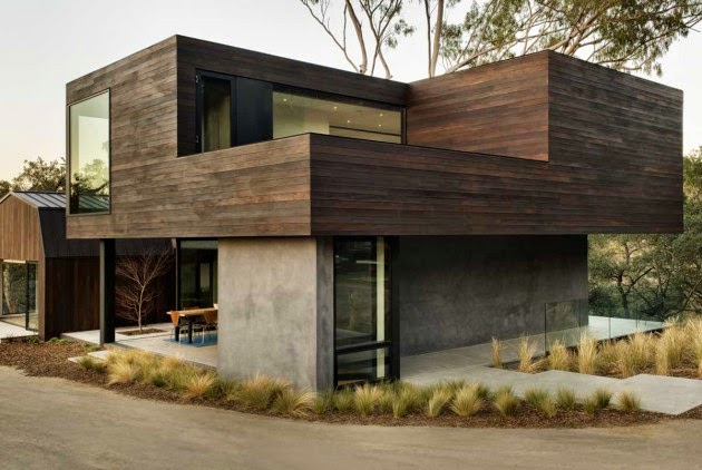 Casa minimalista en beverly hills california for Case minimaliste