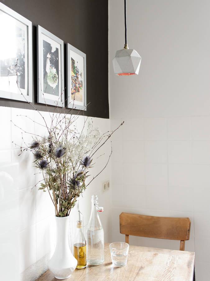 lámpara de concrete para office