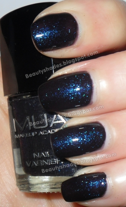 MUA Shade 1 Nail Polish Swatch