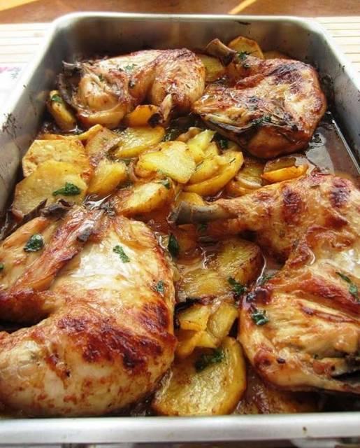 Pollo a la Finas Hierbas