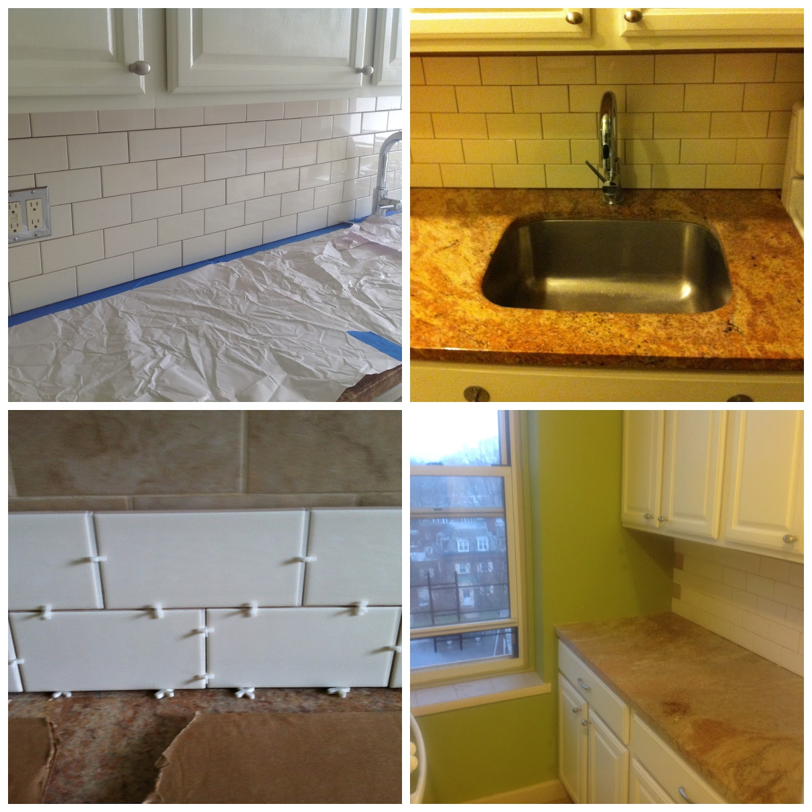Tiling Over Tile Subway Backsplash