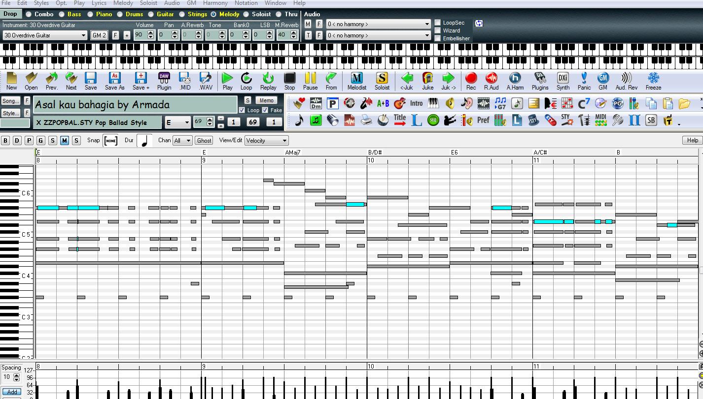 Band  In a Box Software Arranger Untuk Membuat Midi Dan Style