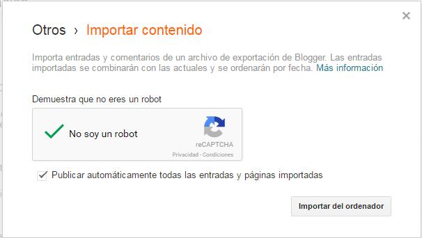 Exportar un blog de Wordpress a Blogger ~ Dev Notes
