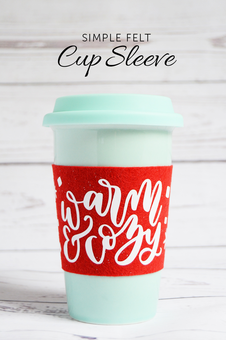warm and cozy cup sleeve at crafts unleashed