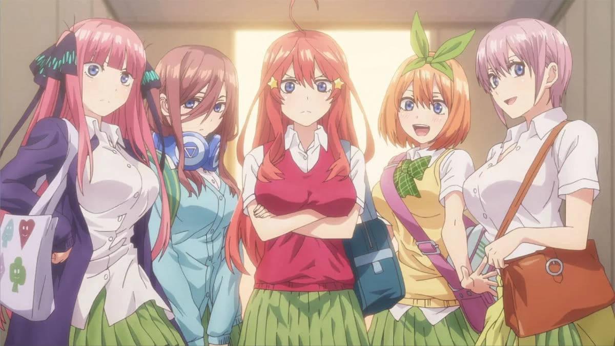 Dziewczyny z anime 5-toubun no Hanayome