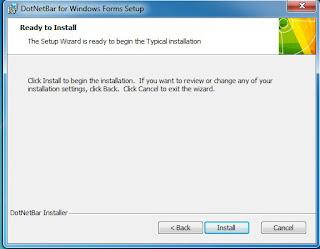 visual basic 2010, donetbar, tutorial