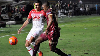 Independiente Santa Fe y Deportes Tolima
