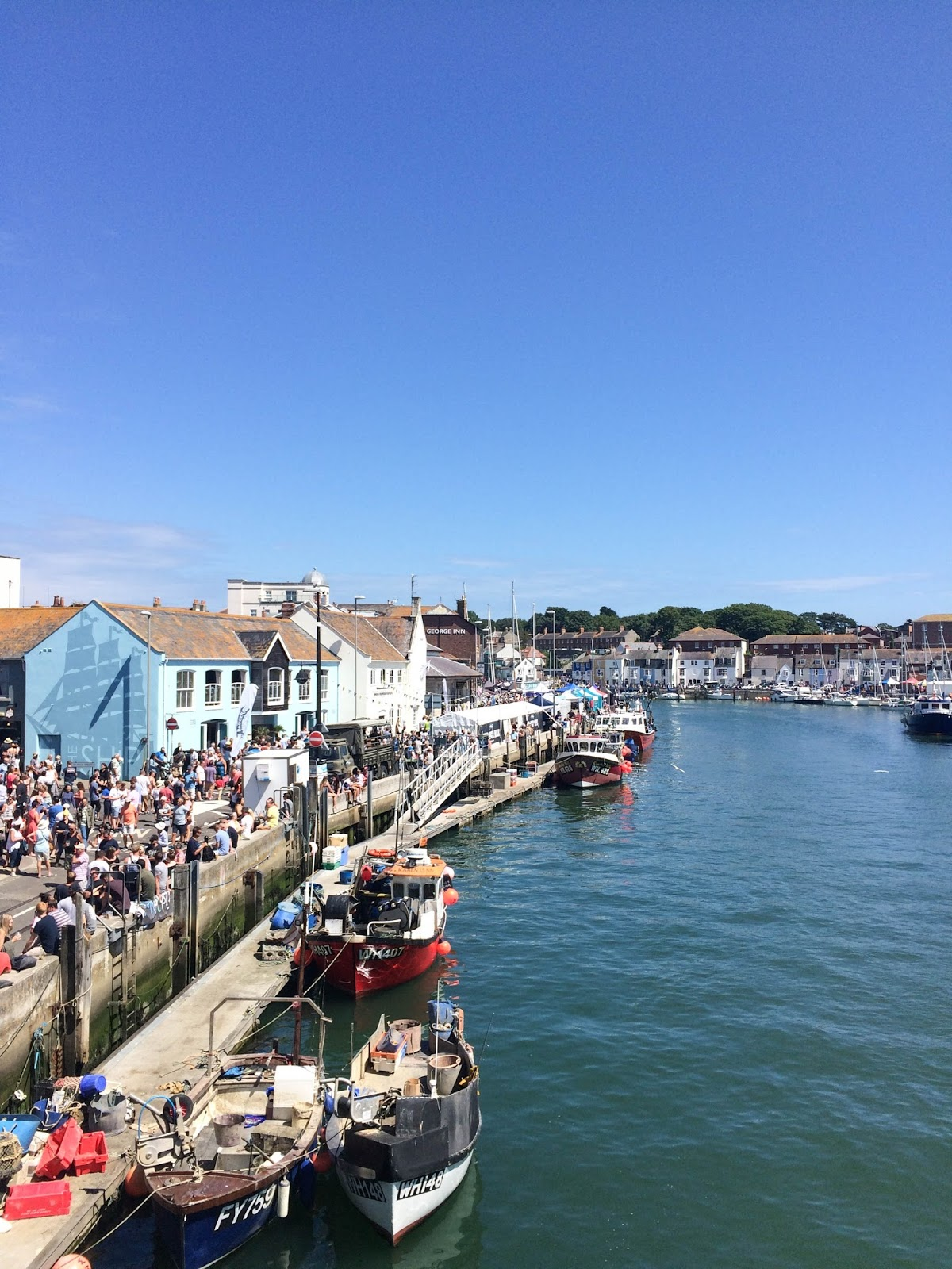 Pommery Dorset Seafood Festival in Weymouth, Weymouth Harbour, street food, food bloggers, lifestyle bloggers