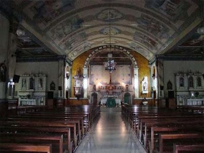 Interno della chiesa dedicata a San Marco