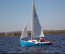 real sailboat