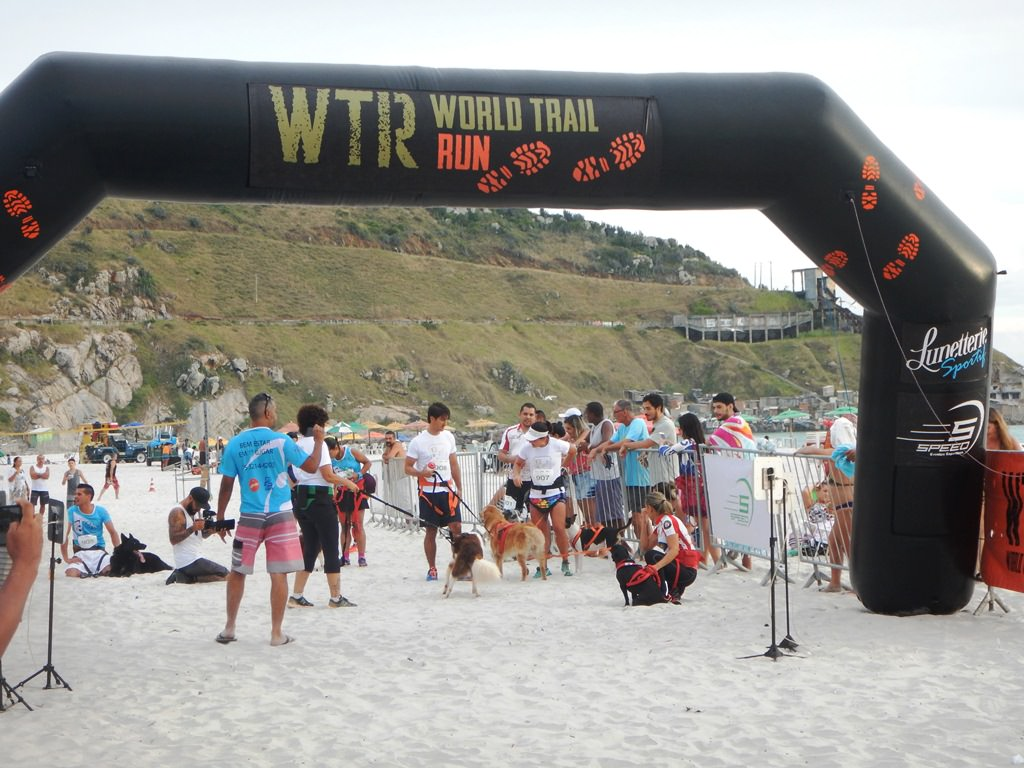 Canicross WTR Arraial do Cabo 2018.