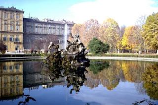 Fontana del Tritone nei Giardini Reali