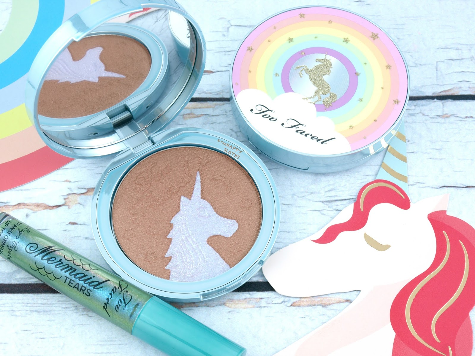 Too Faced | Life's A Festival Unicorn Tears Bronzer: Review and Swatches