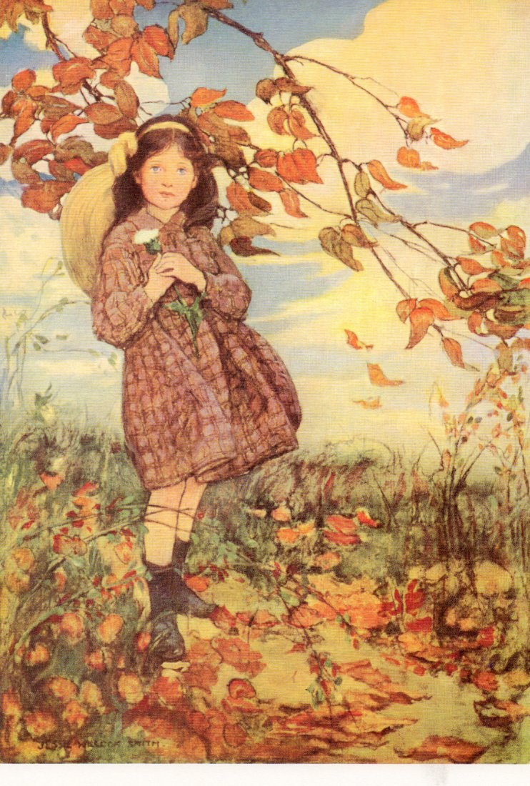 Painting Is Silent Poetry Jessie Willcox Smith