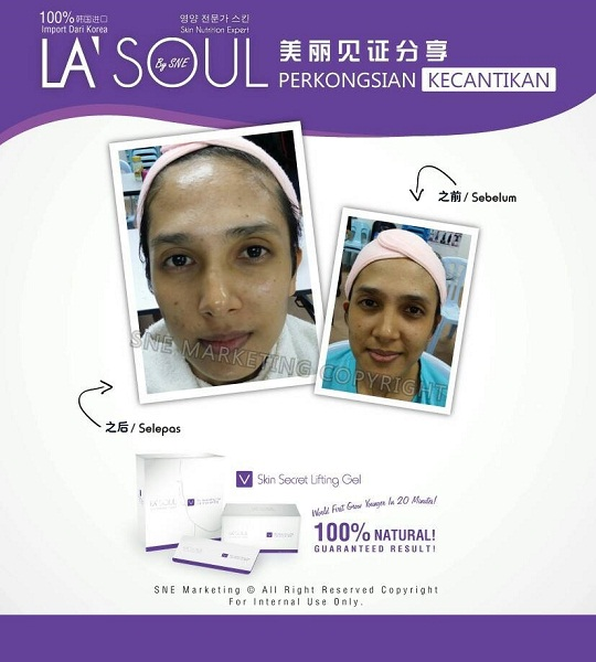 testimoni la' soul lifting gel 23