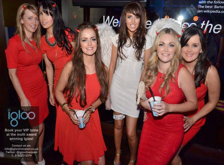Hen Party Ideas For Small Groups: Angels And Devils - Hen Party Theme