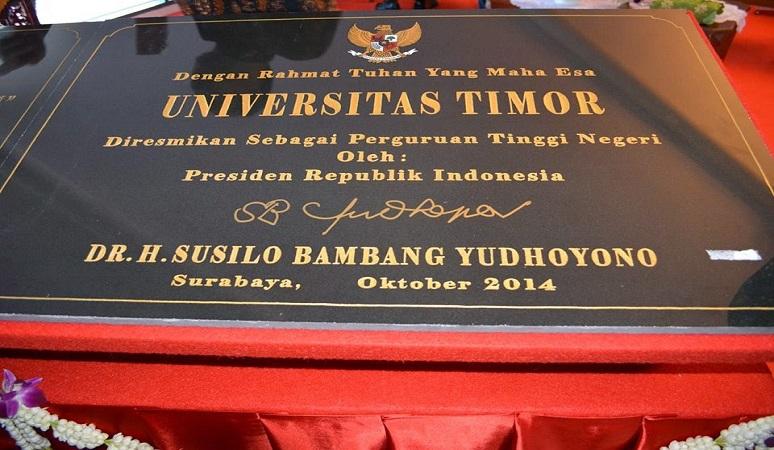 PENERIMAAN MAHASISWA BARU (UNIMOR) 2018-2019 UNIVERSITAS TIMOR