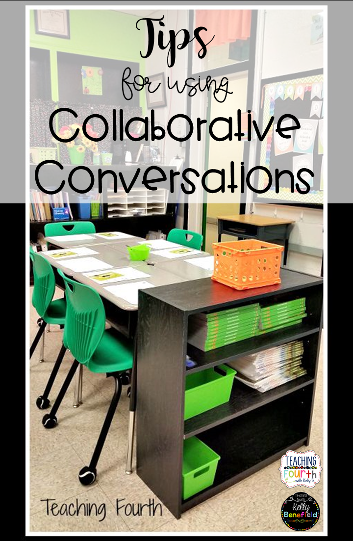 Student Collaborative Conversations ~ Teaching fourth