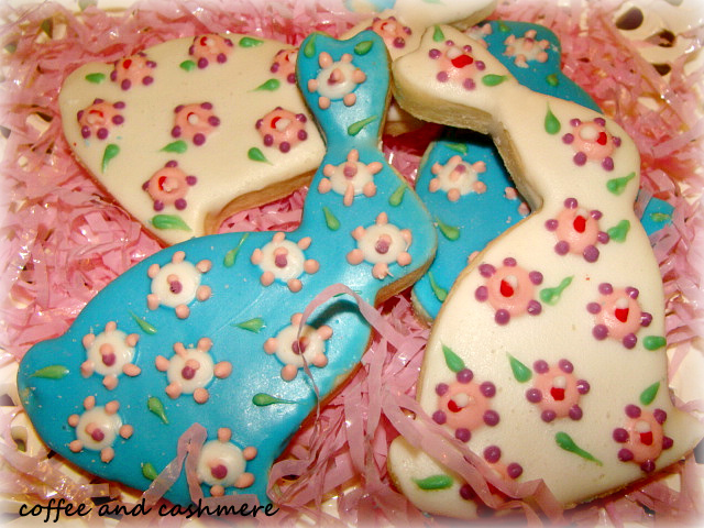 Coffee And Cashmere: Lucky Rabbit Cookies