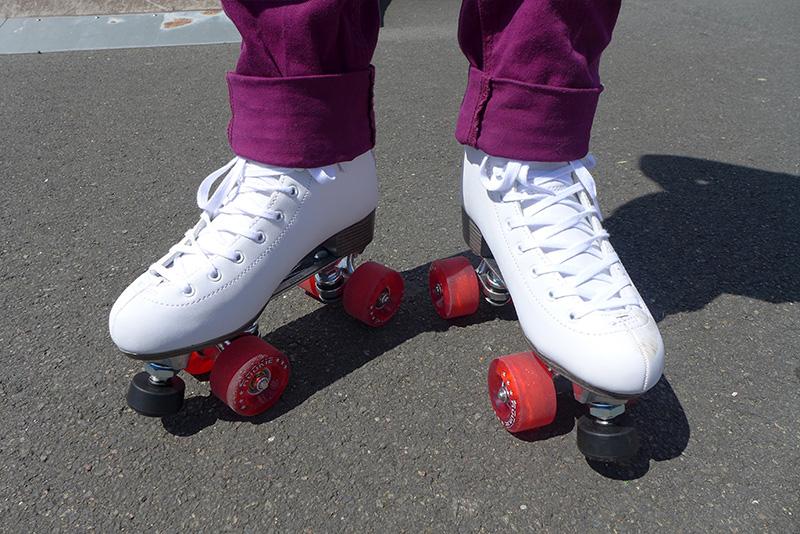 patins à roulettes rookie blanc classique
