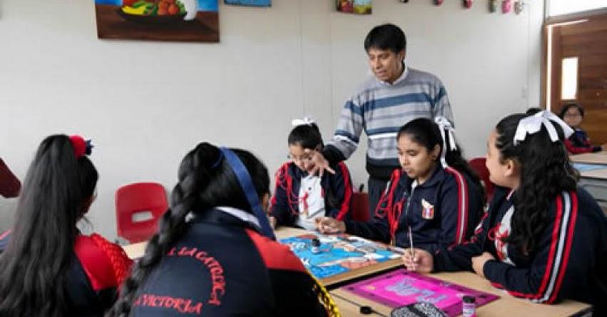 MINEDU: Más de 25 mil profesores ascendieron en la Carrera Pública Magisterial - www.minedu.gob.pe