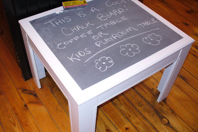 Swell Junque N My Trunk Chalkboard Coffee Table Or Kids Playroom Dailytribune Chair Design For Home Dailytribuneorg