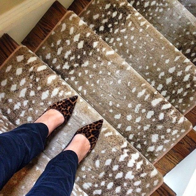 Animal Print Rug Runners For Stairs: House Envy: New Year, New Carpet. And This Isn't Your