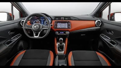 All New Nissan Micra 2017 interior