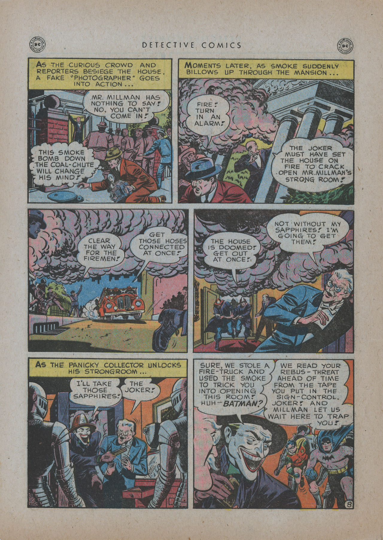 Read online Detective Comics (1937) comic -  Issue #137 - 10