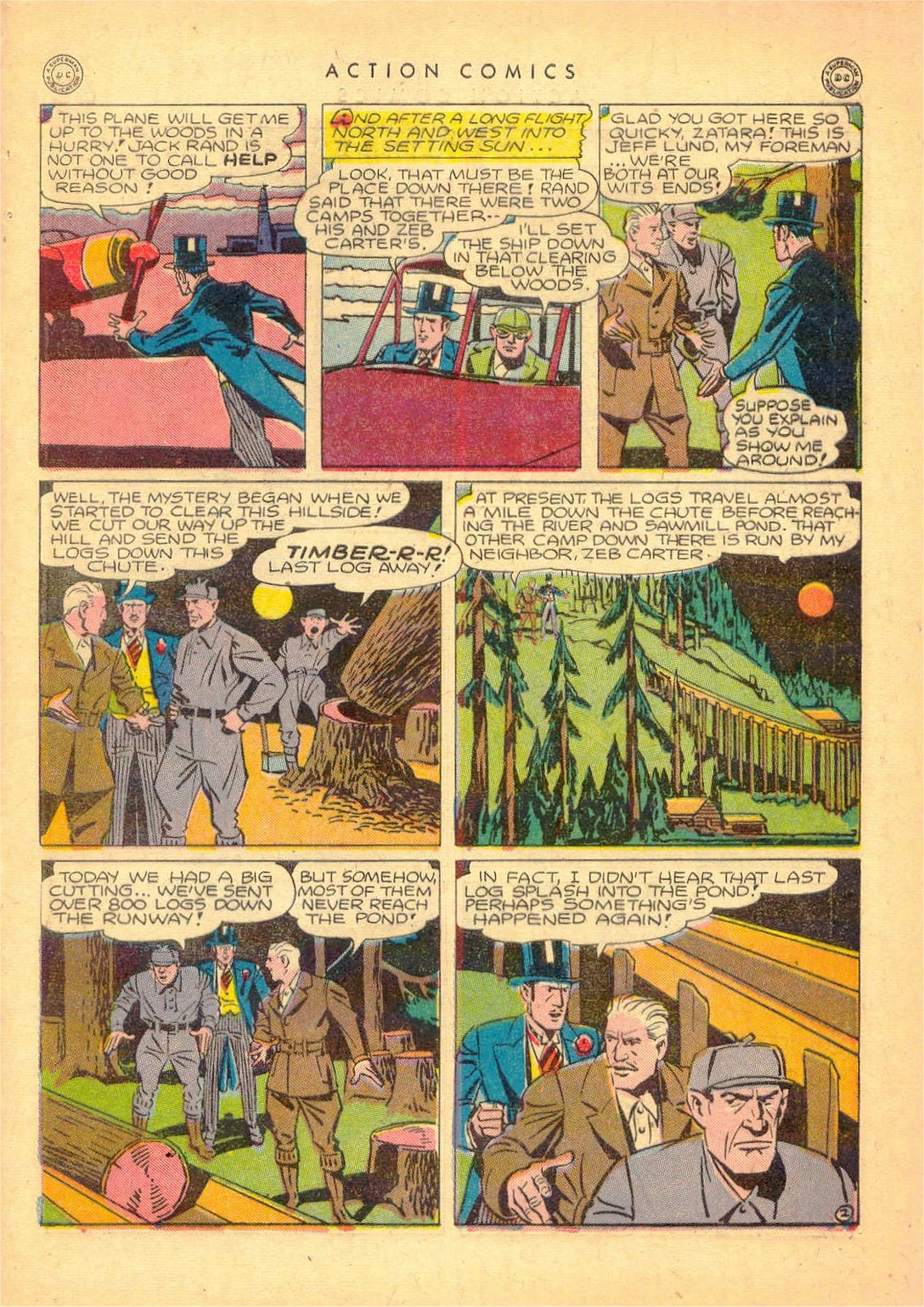 Read online Action Comics (1938) comic -  Issue #80 - 42