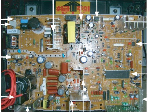 Main Board Ctv Schematic Diagram Circuit Diagram Main Board Crt Board