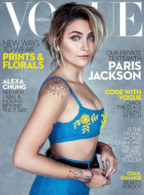 Michael Jackson's daughter, Paris Jackson gets her very first Vogue cover