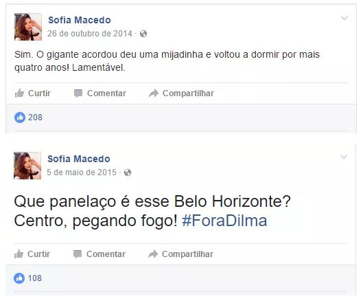 """Estudante que pagou 180 mil para fraudar o Enem pediu """"Fora, Dilma"""" contra a corrupção"""