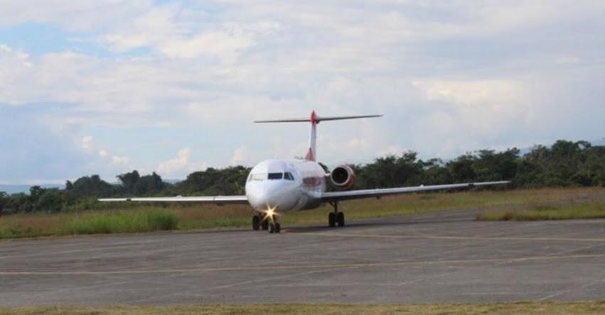 Subsidiarán pasajes aéreos en la ruta Rodríguez de Mendoza - Tarapoto (Amazonas - San Martín)